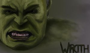 The Hulk by dropeverythingnow