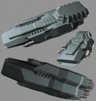 Space Cruiser WIP 3 by usstodd