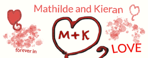 Mathilde and Kieran forever in LOVE! by Thildran