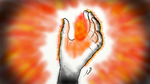 Burning Hand by Baigox