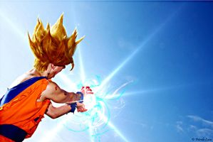 Goku Cosplay .:The power of Kame!:. by Alexcloudsquall