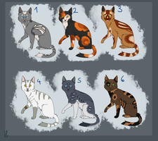 Adoptables 7 - SOLD by AcidNeku