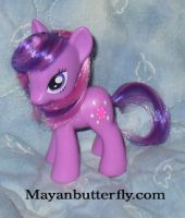 Twilight Sparkle MLP with Show Accurate Hair by mayanbutterfly