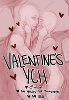 ::Auction:: Valentine's YCH (Closed) by Jotaku