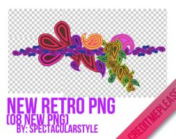 new retro png by spectacularstyle
