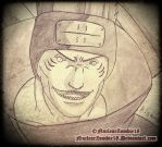 Anime Sketch- Kisame by NuclearZombie18