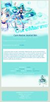 Cure Marine Journal Skin by pomppet