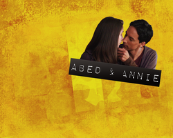 Community: Abed and Annie by wirehangers