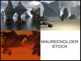 STOCK BG sci-fi fantasy by MaureenOlder