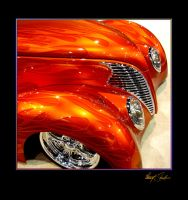 orange flame hotrod 2 by Z-Vincent