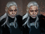 Geralt of Rivia (Wild Hunt) by Helen-Stifler