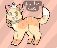 Vanilla Cupcake Cat Auction - OPEN by catpaths