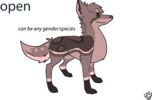 NAME YOUR PRICE Adoptable:open by SilverSunFoxy