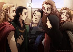 Loki is back! don't worry by Kibbitzer
