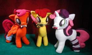 CMC plushie set by Oblitor
