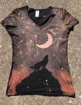 Wolf Moon shirt-front 2 by Kiku-Goldenflower