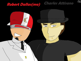 Me and Charles by aquawarrior123