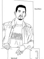 Nick Groff .:Base-Outline:. by KagsChann
