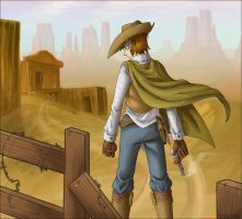 High Noon by YamiRedPen