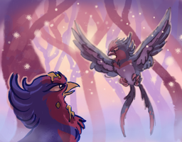 A fellow Swellow by iveechan-art
