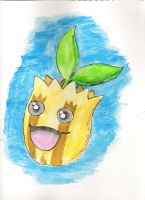 #191 Sunkern by SquidinaRowboat