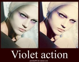 Violet action by perelka880