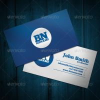 Blue Business Card by ARphotography-design