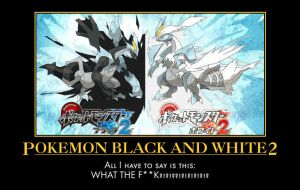 Pokemon Black and White Two by NoctusInfinity