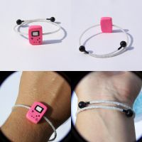 Hot Pink Gameboy Color Bracelet by Shelby-JoJewelry