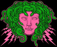 Electric Medusa by scumbugg