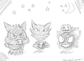 Trick or Treat Sketchtober Oct21 by thenumba1spaz