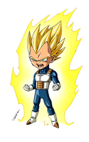 Vegeta SD by Tomycase