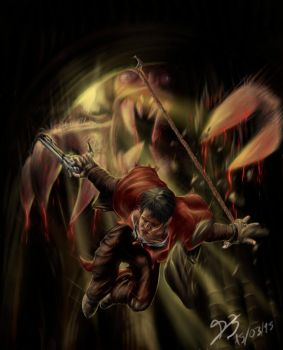 Illustration Devil May Cry 15/03/2015 by Dragenlife