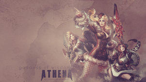 SMITE - Athena, Goddess of Wisdom by Shlickcunny