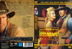 Adventures of Brisco County DVD Cover by Black-Battlecat