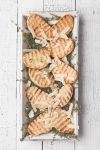 Grilled buns with parmesan and thyme by slyadnev