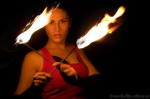 Fire Dancer Two by Procedure1