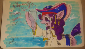 Feb 1 Sketch: Why is the rum gone? by Johansrobot