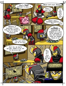 Mission 7 Of Knights and Pawns - Page 14 by CrimsonAngelofShadow