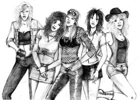 Female Guns n Roses XD by CrimsonAnaconda