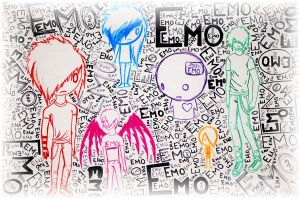 Emo and Colors by TimBurtonFan11