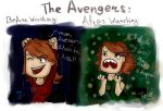 The Avengers: Before and After Watching by Joki165