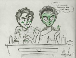 Klaine: Nightly Regime by Muchacha10
