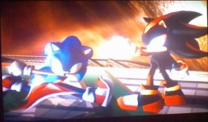 Sonic and Shadow part 2 by sonicfan40