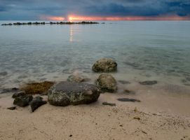 Sunrise Yamacraw beach again by peterpateman