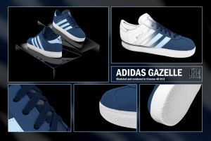 Adidas Gazelle by JoHnnY8901