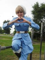 Finland loves you by CracktaliaCosplay