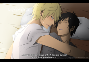 Happy Birthday Izaya by Pelissa