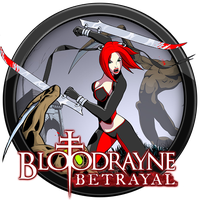 BloodRayne Betrayal Icon by andonovmarko