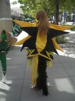 SacAnime Cosplay: Zapdos Back by wolfforce58